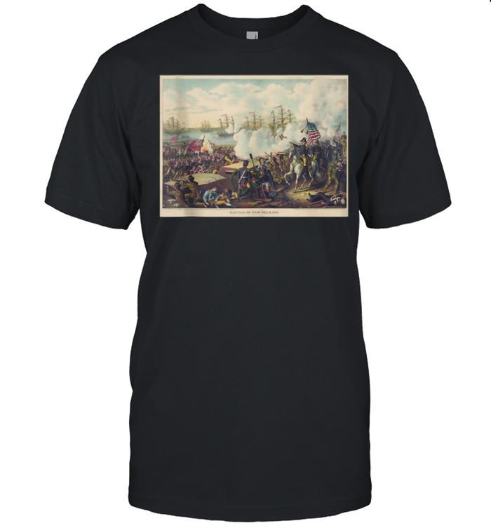 Battle of New Orleans Historic Military shirt Classic Men's T-shirt