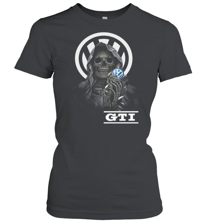 Punisher Skull With Logo Gti Classic Women's T-shirt