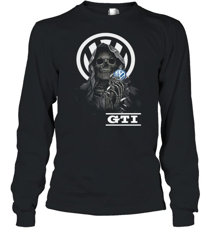 Punisher Skull With Logo Gti Long Sleeved T-shirt