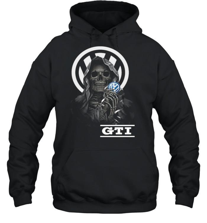 Punisher Skull With Logo Gti Unisex Hoodie