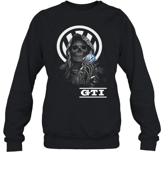 Punisher Skull With Logo Gti Unisex Sweatshirt