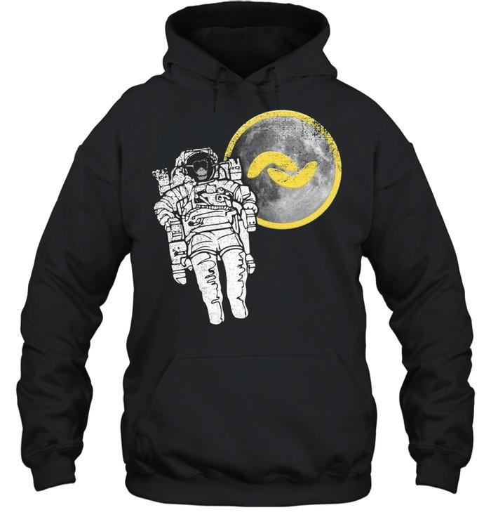Banano Monkey To The Moon shirt Unisex Hoodie