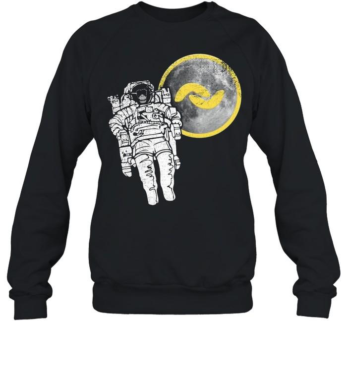 Banano Monkey To The Moon shirt Unisex Sweatshirt