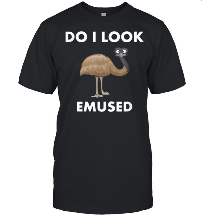 Emu Bird Do I Look Emused Australia EMU shirt Classic Men's T-shirt