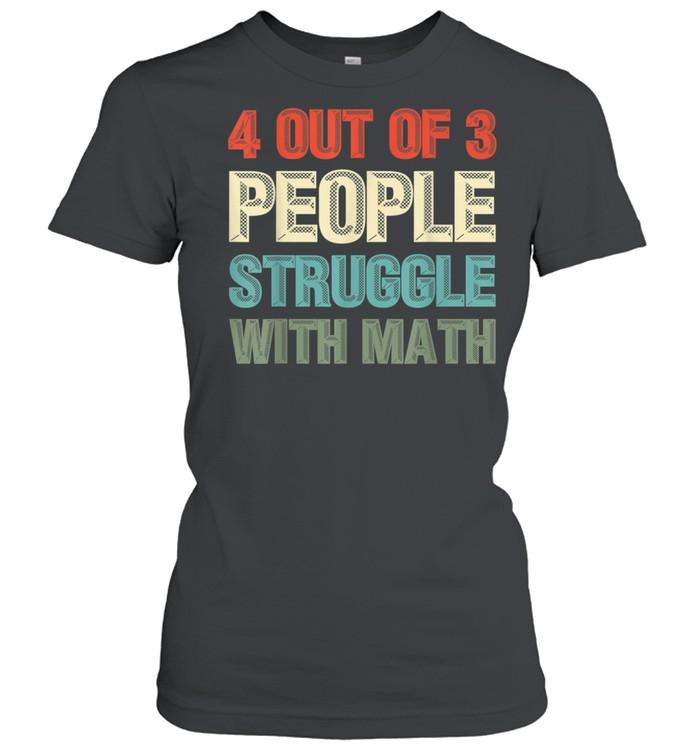Mathematiker Geek Mathematik Nerd Lustiges Mathe shirt Classic Women's T-shirt