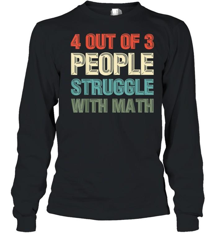 Mathematiker Geek Mathematik Nerd Lustiges Mathe shirt Long Sleeved T-shirt