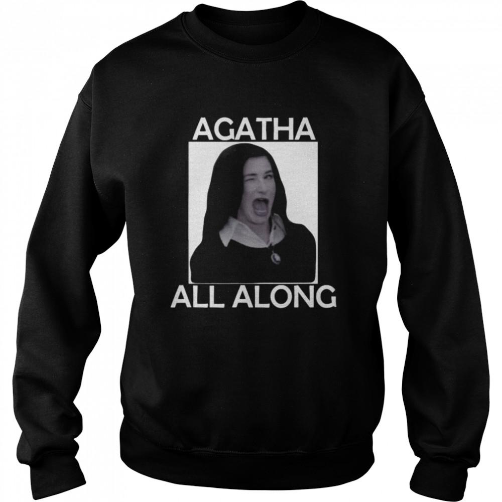 Agatha All Along Marvel Wandavision Mini Series  Unisex Sweatshirt