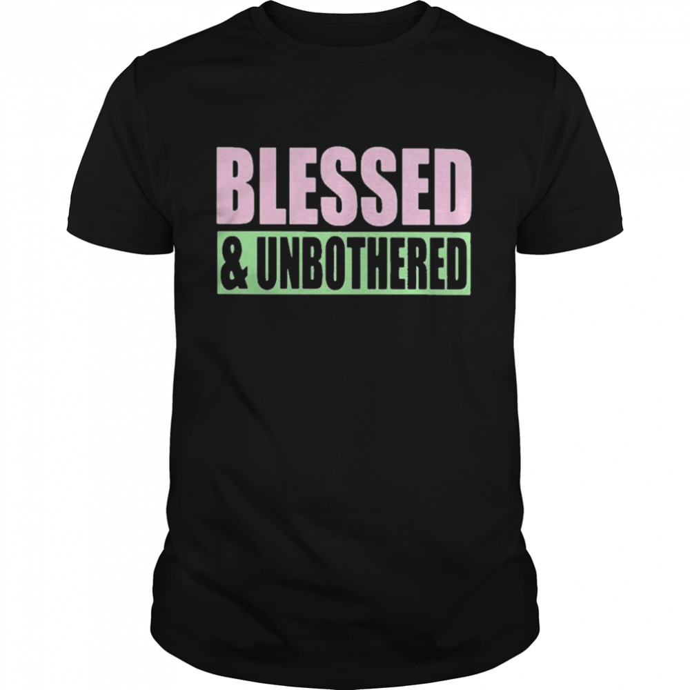 Blessed And Unbothered shirt Classic Men's T-shirt