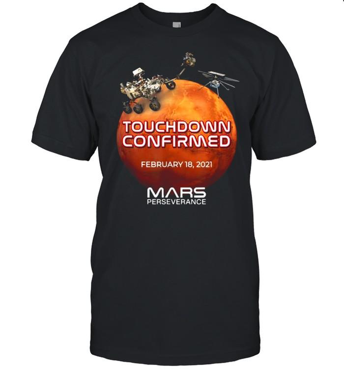 Mars Perseverance Rover Nasa Mars Landing  Classic Men's T-shirt