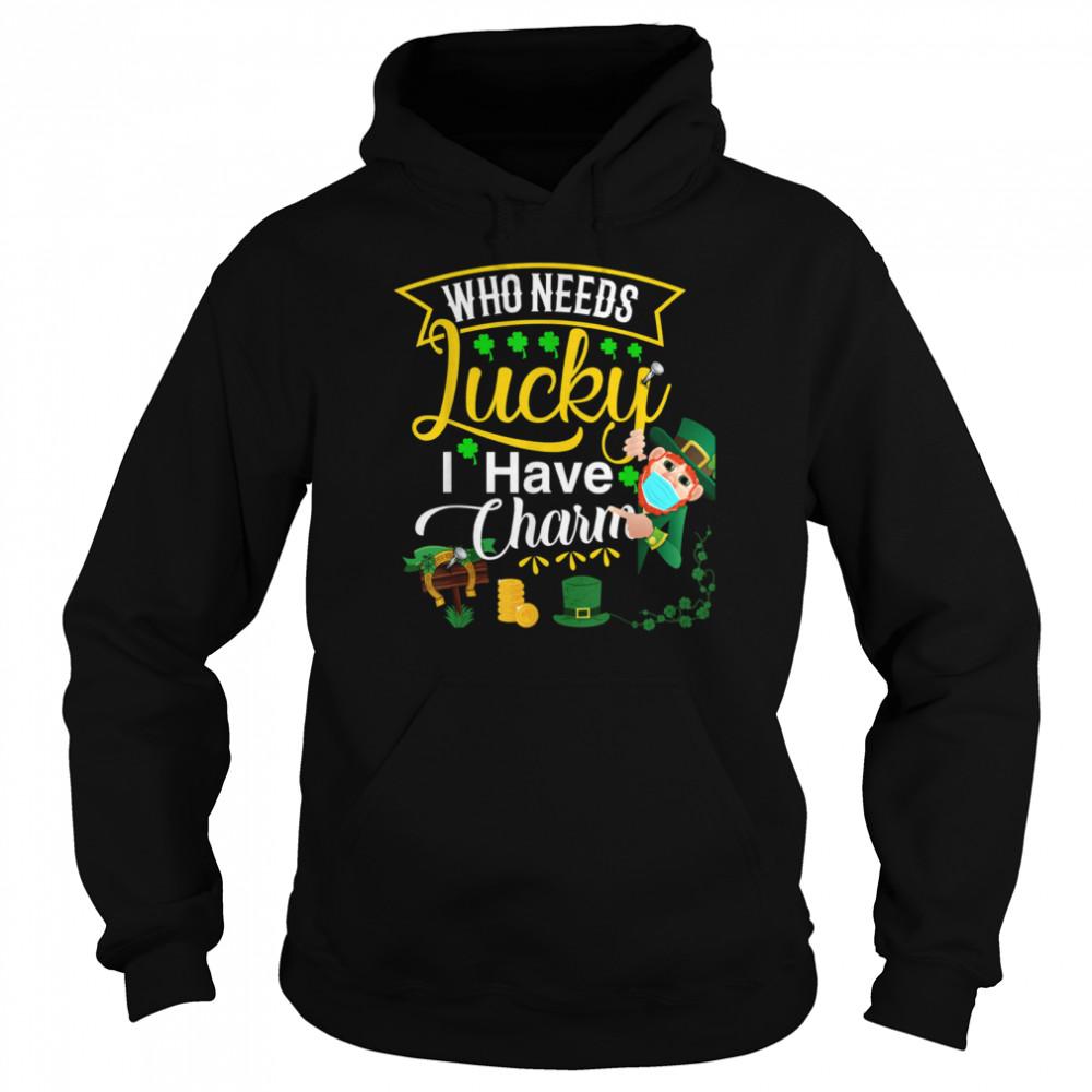 My Lucky Charm St Patricks Day Matching Couple Shamrock shirt Unisex Hoodie