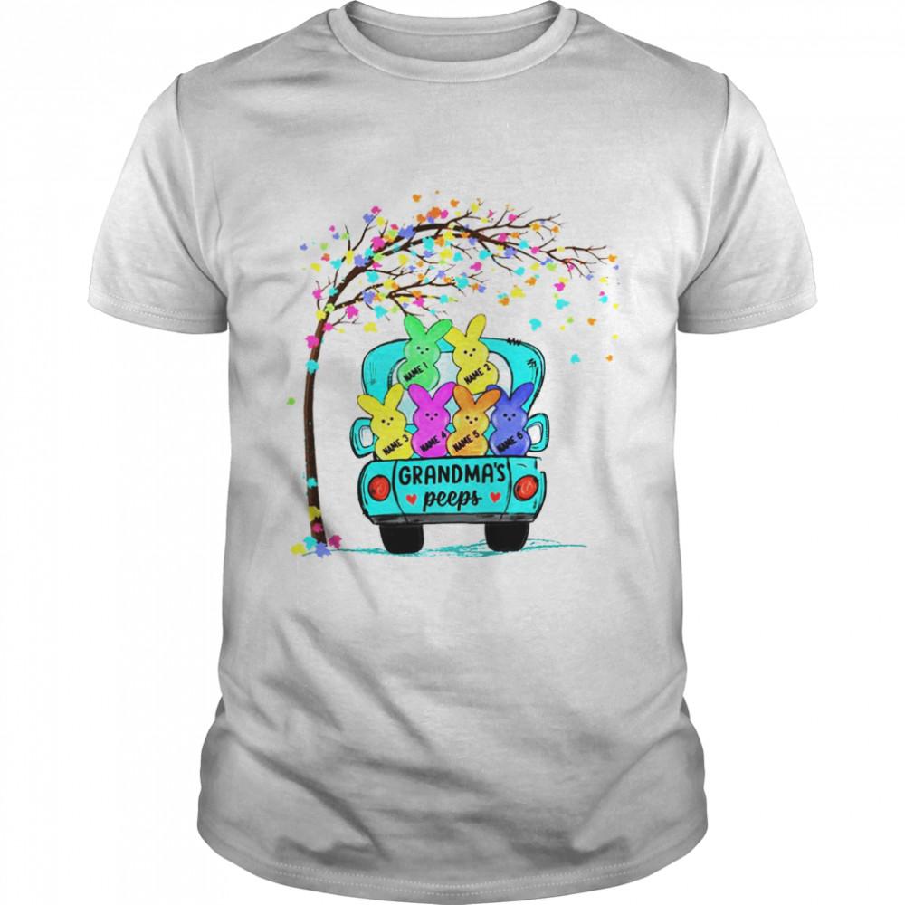 Personalized Grandma Peeps Easter shirt