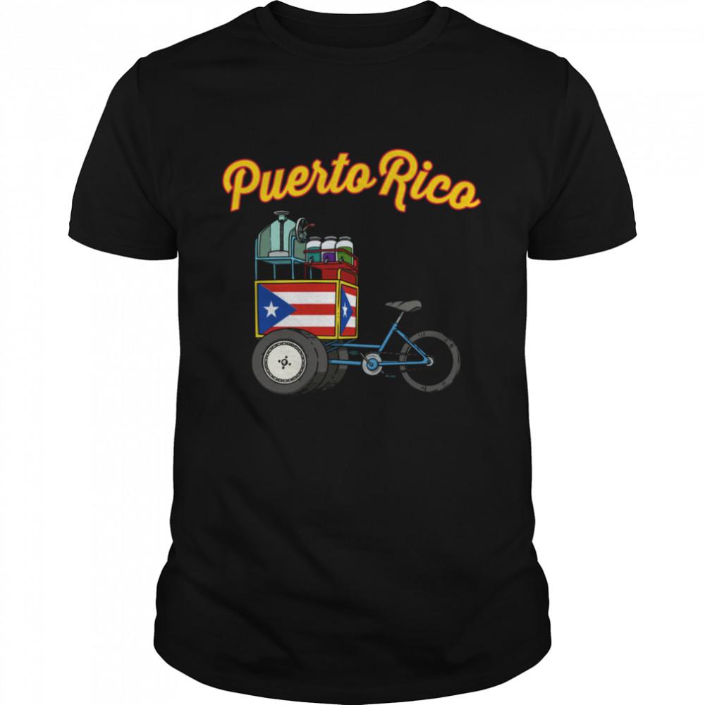 Puerto Rico Piragua Cart Puertorriquenos shirt Classic Men's T-shirt