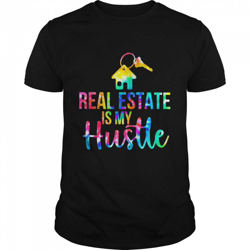 Real Estate Is My Husttle House Key Hippie  Classic Men's T-shirt