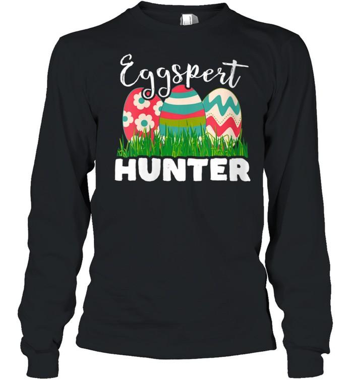 Eggspert Hunter Easter Egg shirt Long Sleeved T-shirt
