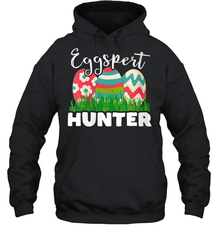 Eggspert Hunter Easter Egg shirt Unisex Hoodie