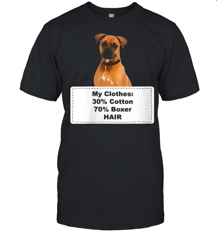 Shedding Dog Boxer shirt Classic Men's T-shirt