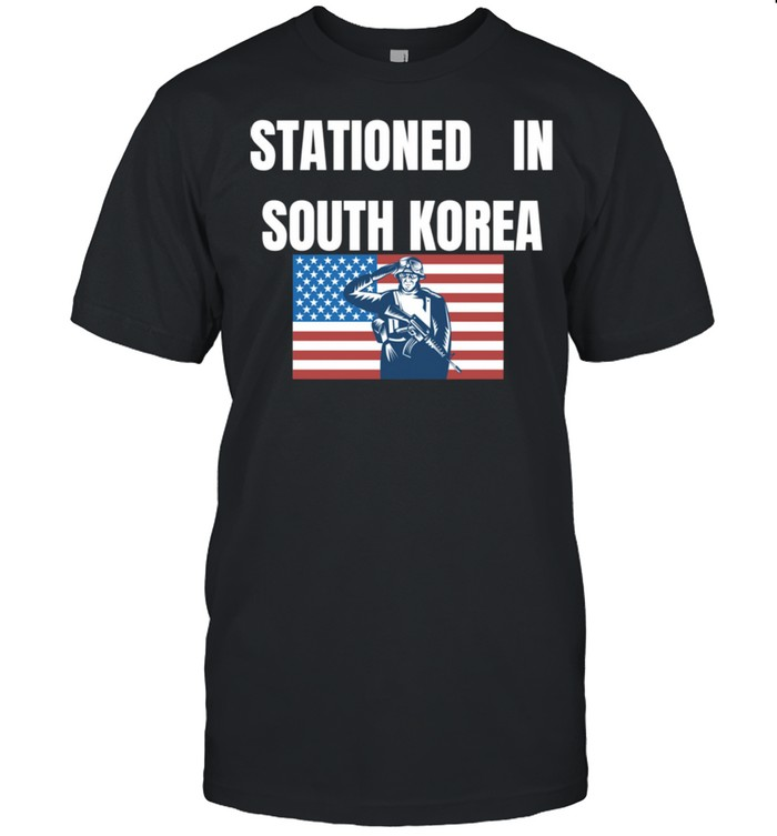 Stationed In South Korea shirt Classic Men's T-shirt