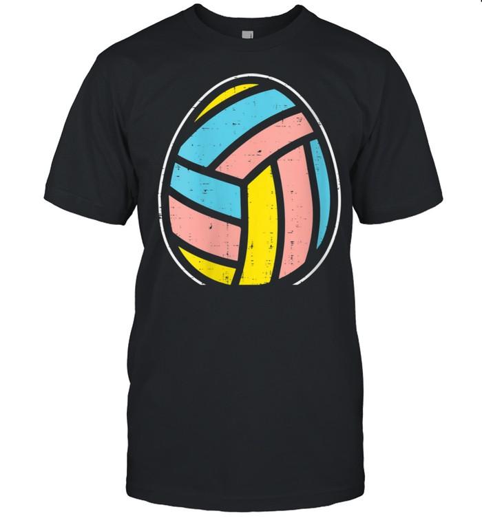 Volleyball Egg Cute Easter Ball Sports Player Team Coach shirt Classic Men's T-shirt