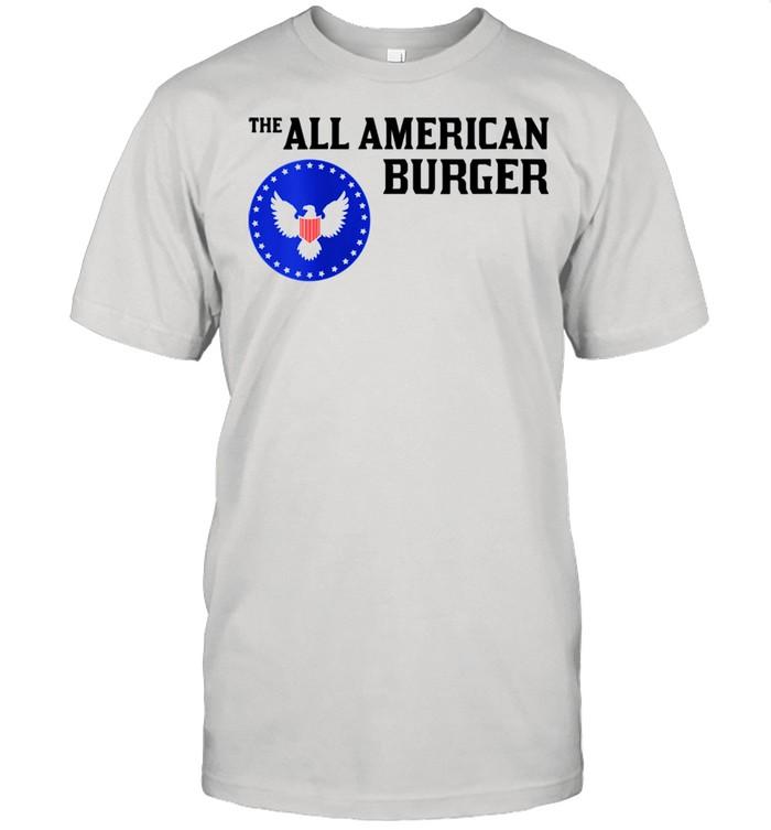 1980s Hamburger The All American Burger shirt Classic Men's T-shirt