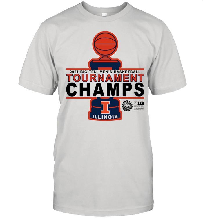 Illinois Basketball 20 21 Tournament Championship shirt Classic Men's T-shirt