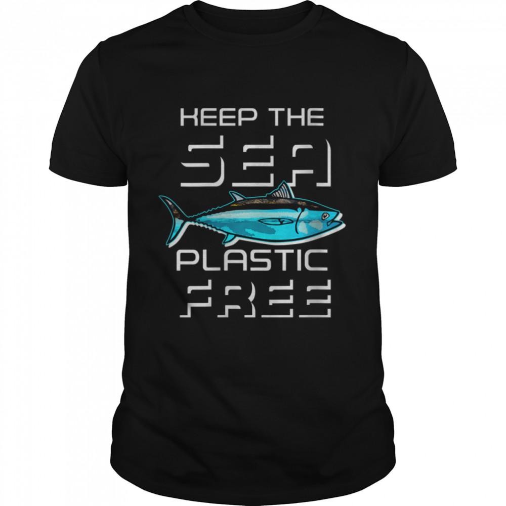 Earth Day 51th Anniversary Sea Plastic Free Clean Ocean shirt Classic Men's T-shirt