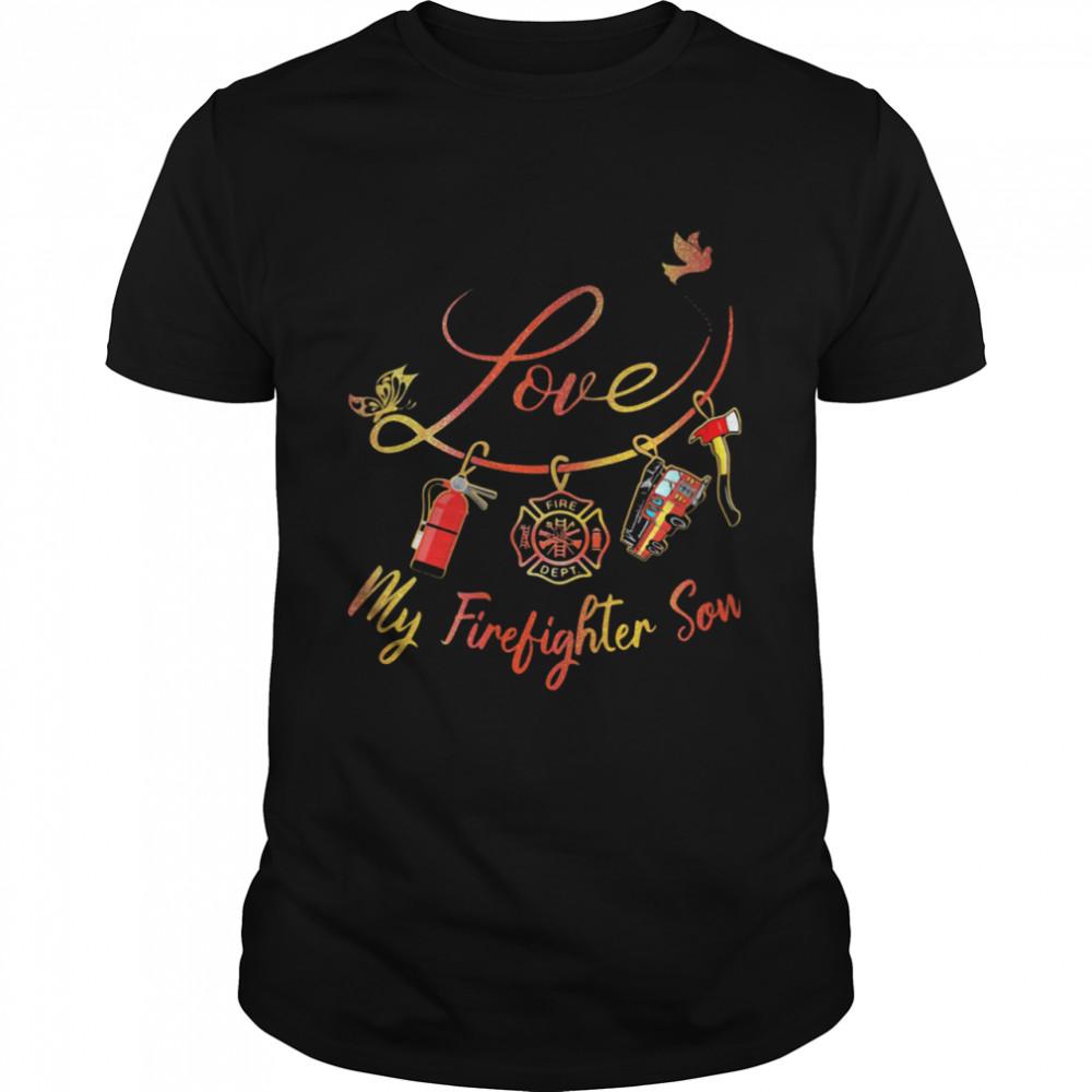 Love My Firefighter Son  Classic Men's T-shirt