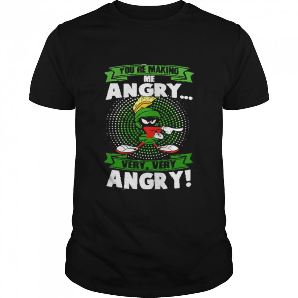 Marvin The Martian You're Making Me Angry Very Very Angry  Classic Men's T-shirt
