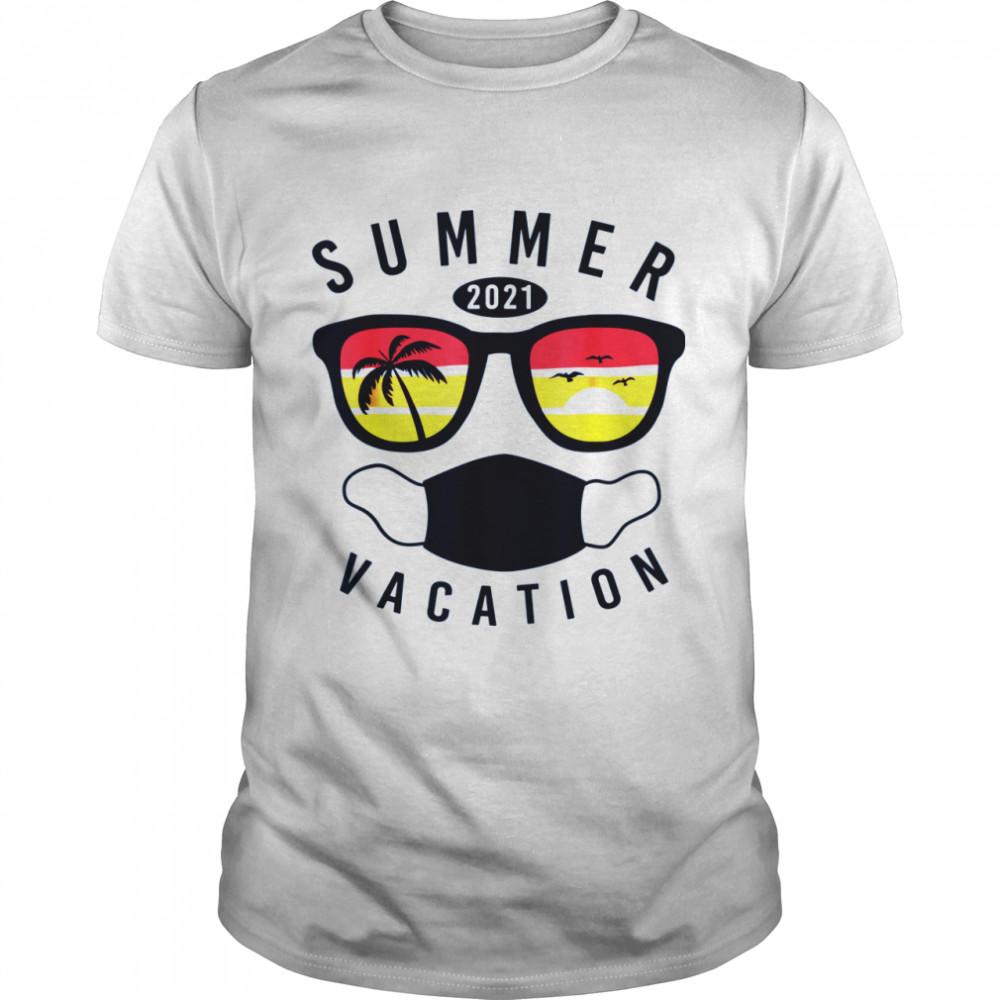 Summer Vacation 2021 in Quarantine Matching Family shirt Classic Men's T-shirt