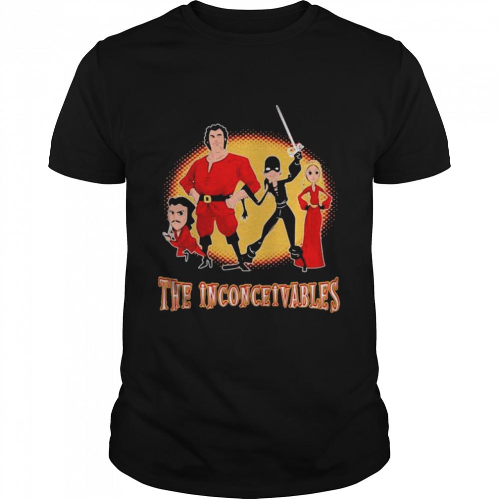 The Inconceivables Superhero Shirt
