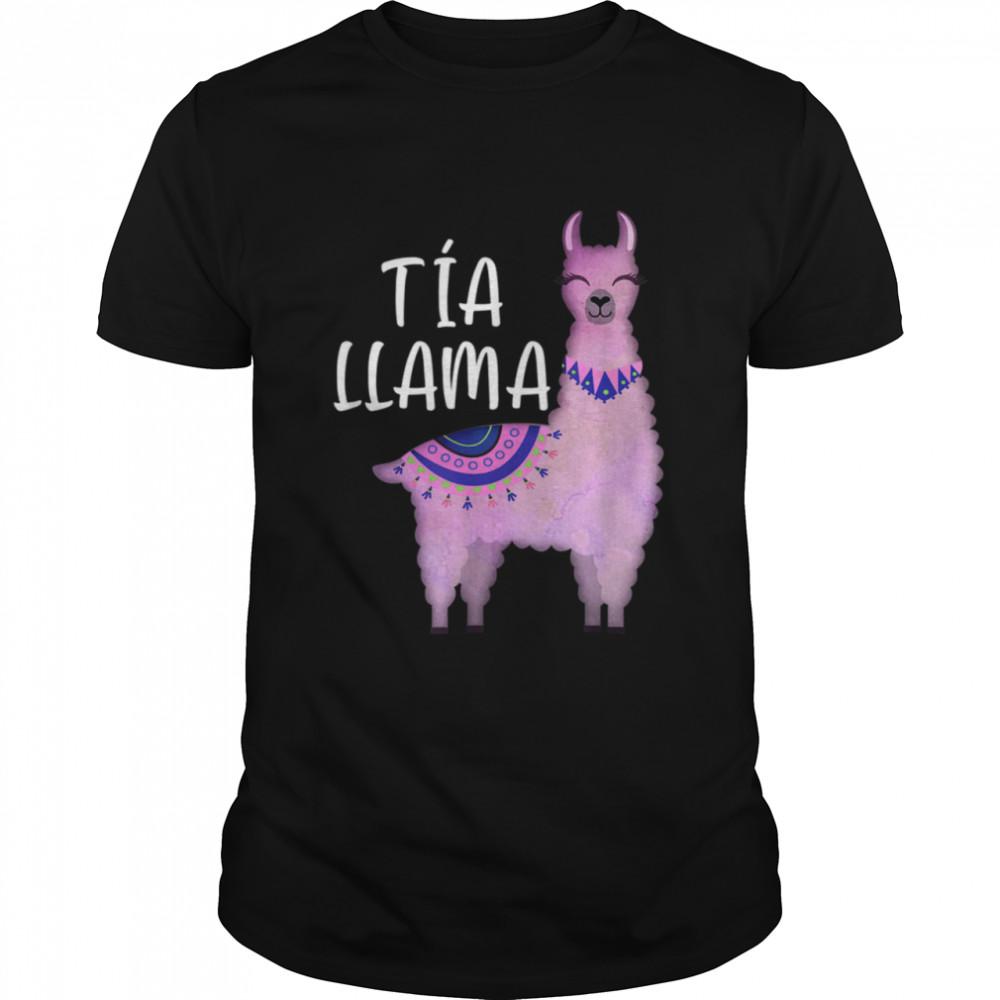 Tia Llama Spanish Aunt Llama  Classic Men's T-shirt