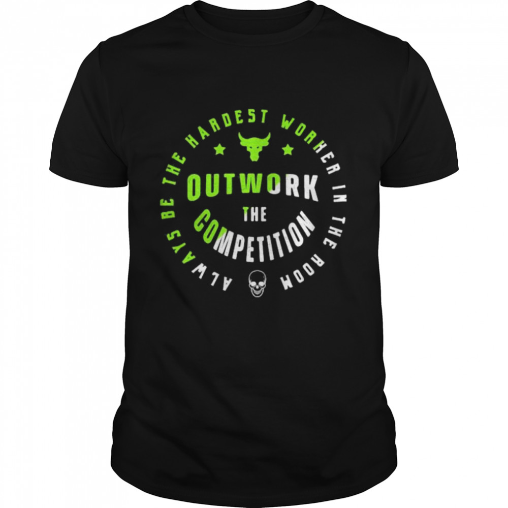 Always Be The Hardest Worker In The Room Outwork The Competition Buffalo Vs Skull  Classic Men's T-shirt