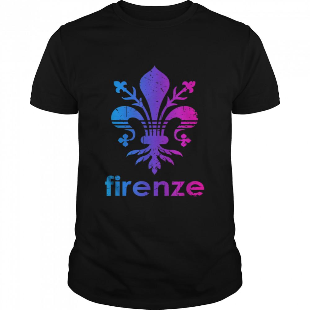 Firenze Italy Florence Italia Vacation Souvenir shirt Classic Men's T-shirt