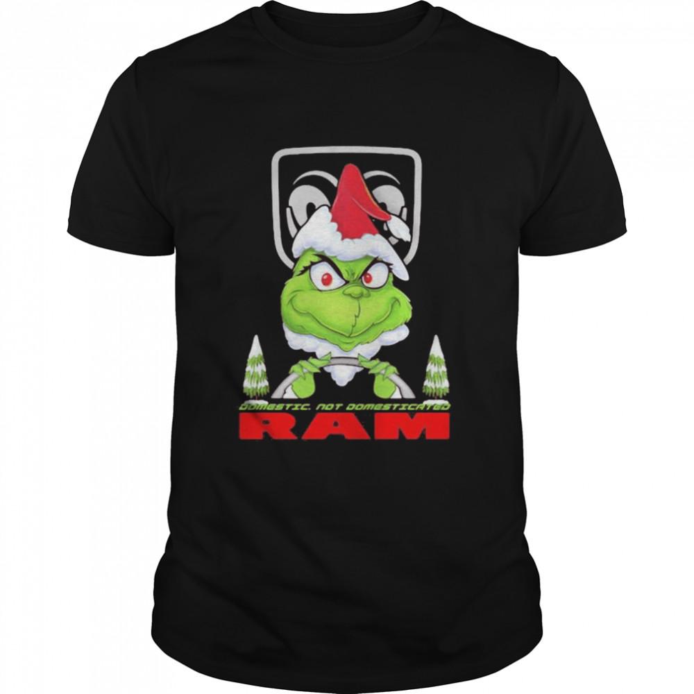 Grinch Biker Car Domestic Not Domesticated Ram Trucks  Classic Men's T-shirt