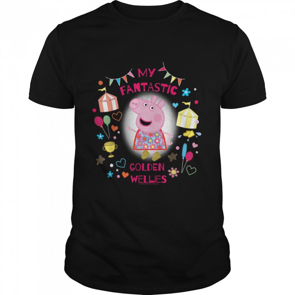 Peppa Pig Golden Wellies shirt Classic Men's T-shirt