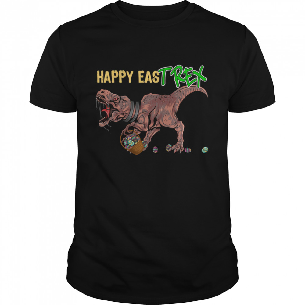 Easter Day T Rexs Happy EasT Rex Easter shirt Classic Men's T-shirt
