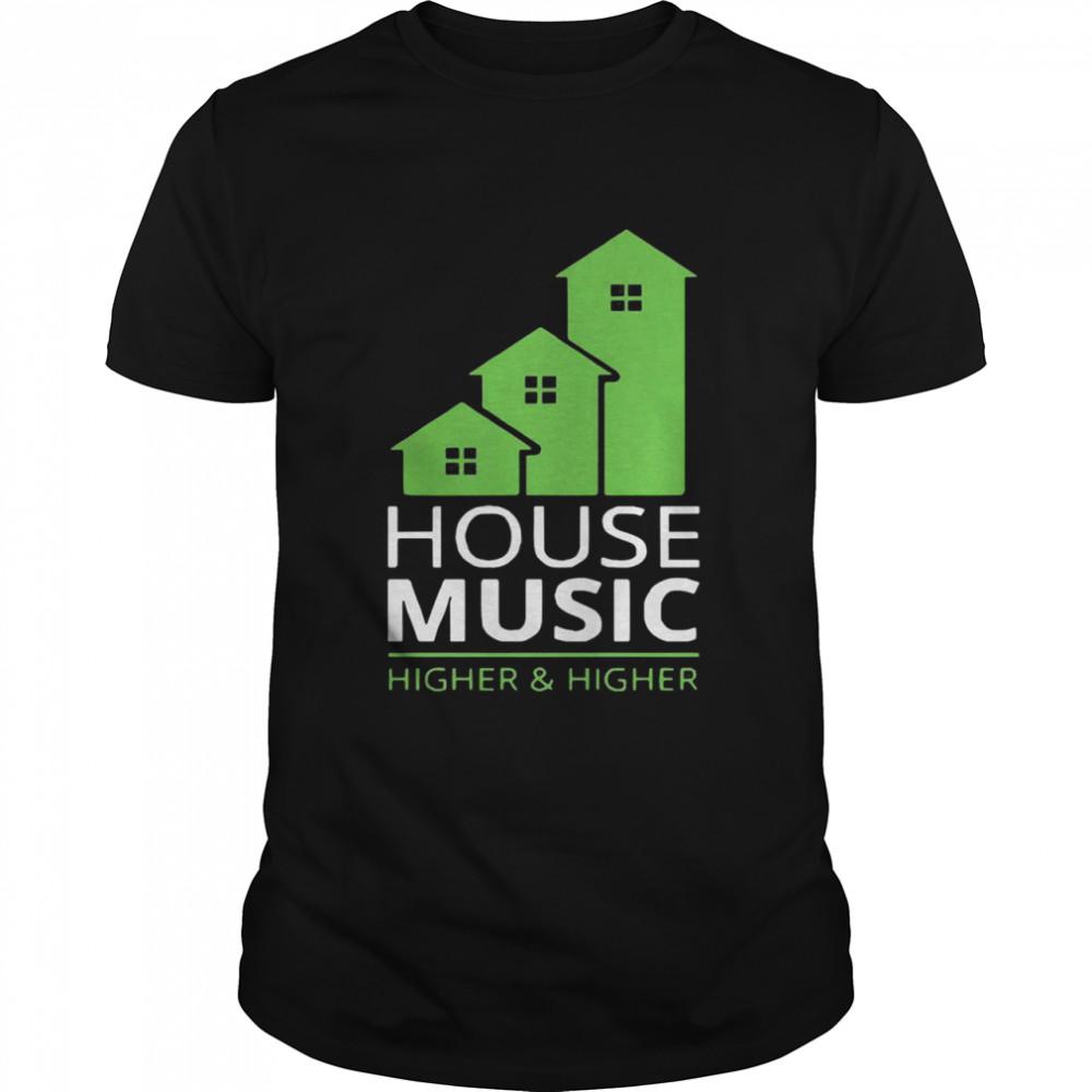 House music higher and higher shirt Classic Men's T-shirt