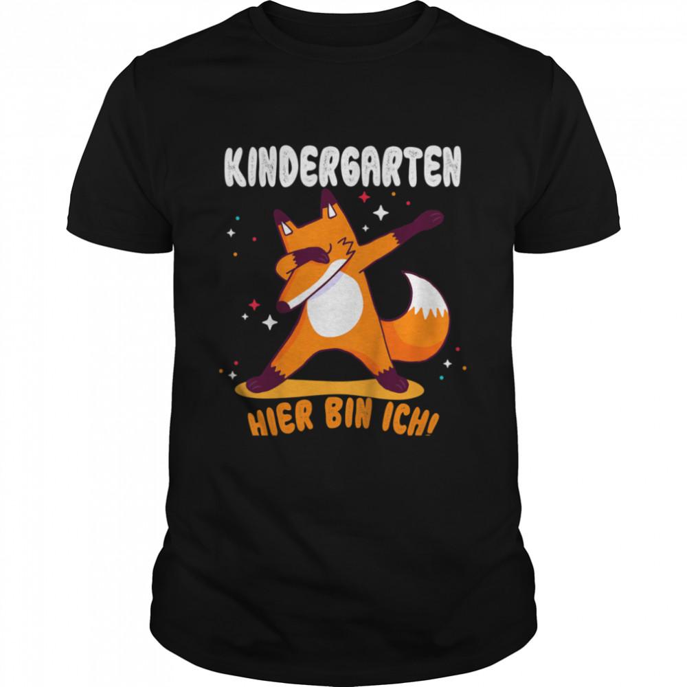 Kinder Kindergarten Anfang Geschenk Kindergartenkind 2021 Fuchs  Classic Men's T-shirt