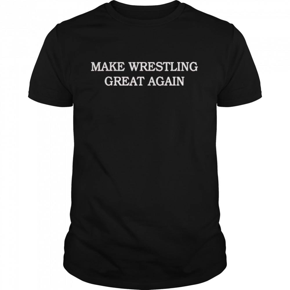 Make wrestling great again shirt Classic Men's T-shirt