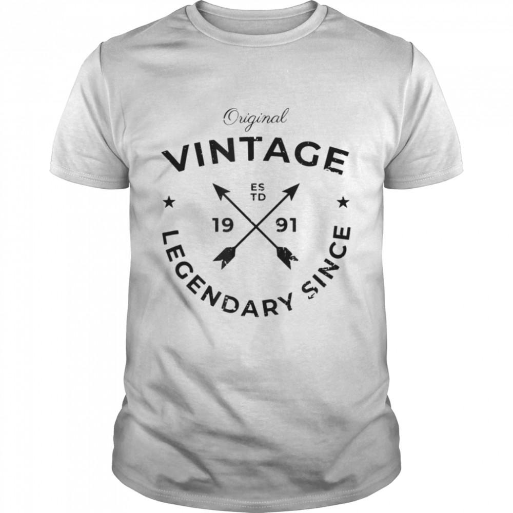 Vintage 30th Birthday  Classic Men's T-shirt