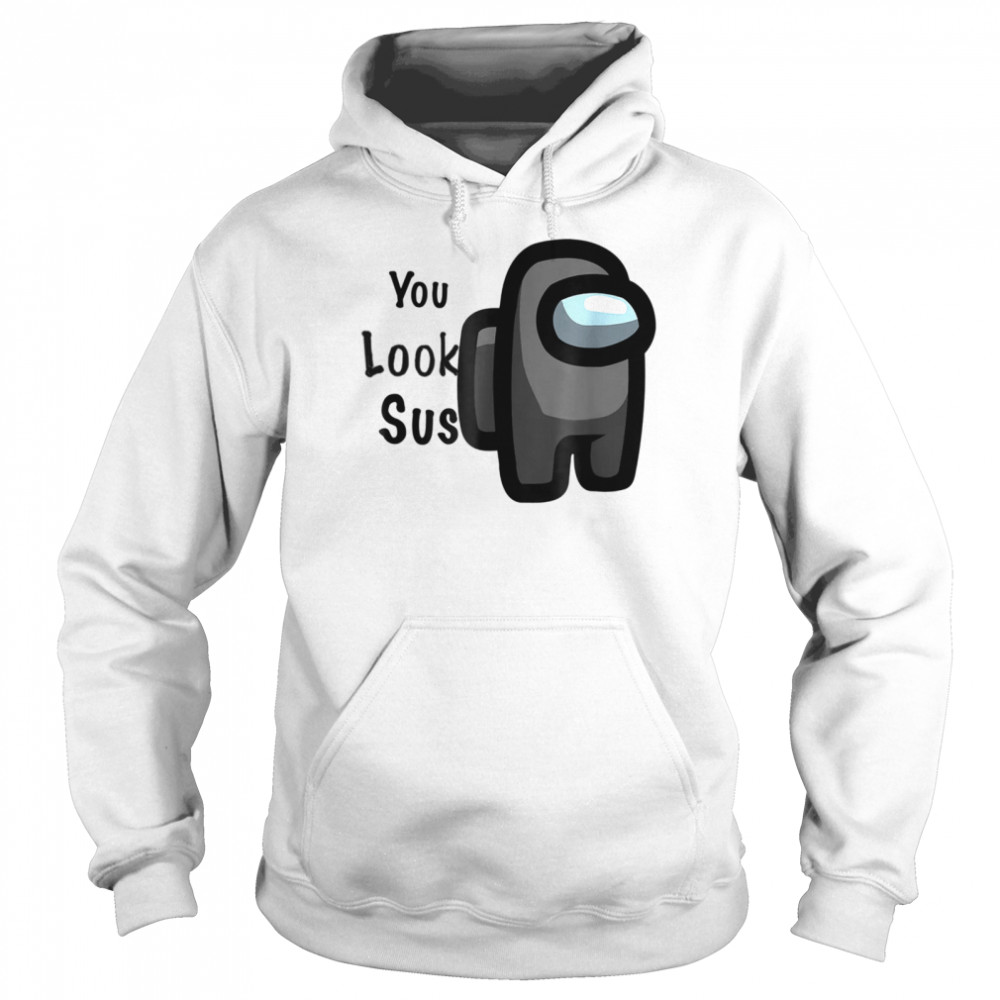 A.mong the best in the world you look  Unisex Hoodie