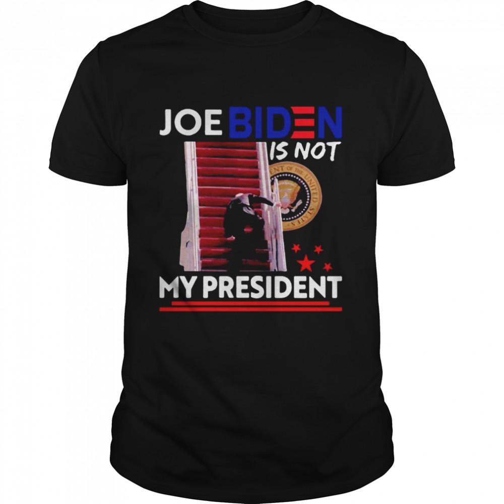 Joe Biden Is Not My President T-shirt Classic Men's T-shirt