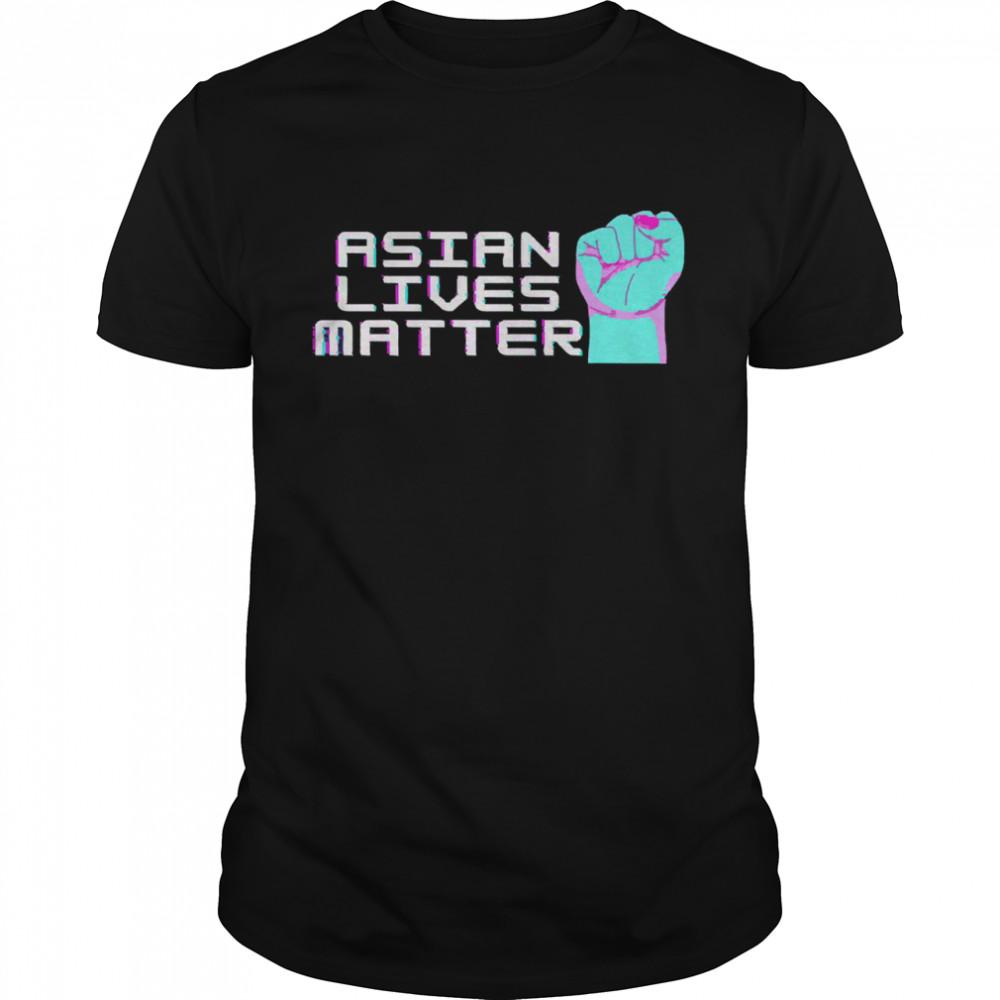 Asian lives matter retro positive shirt Classic Men's T-shirt
