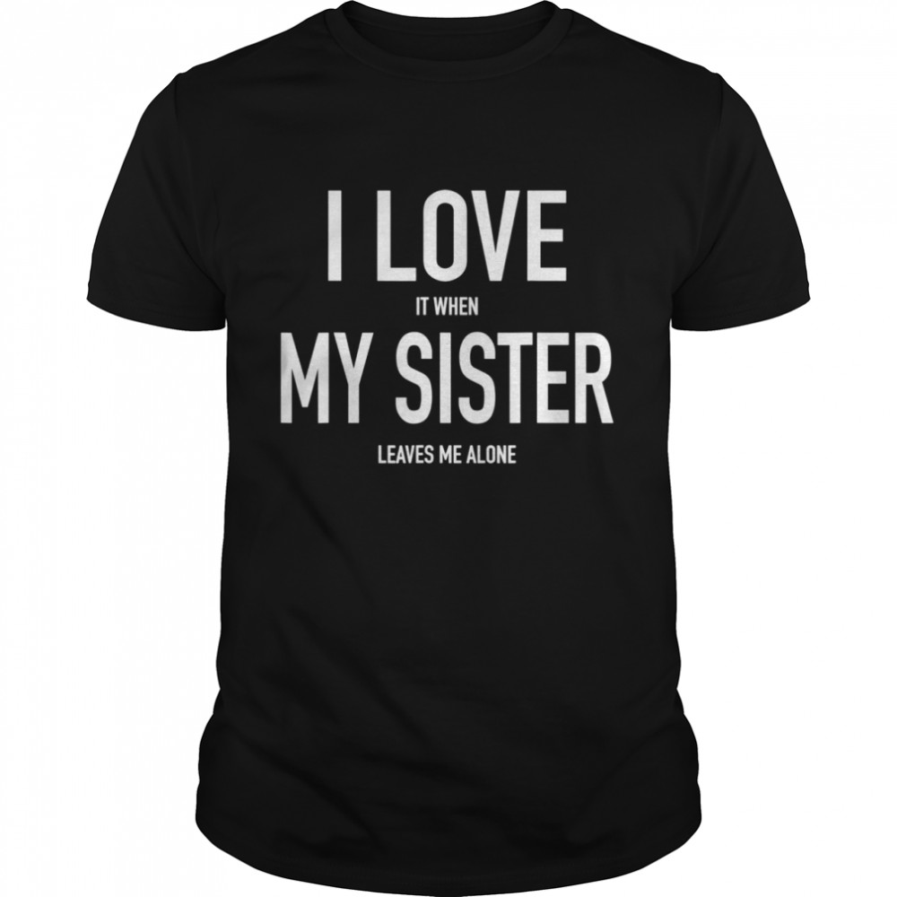 Brother Loves His Sister Siblings Twins  Classic Men's T-shirt