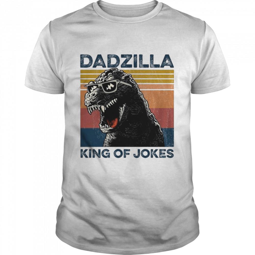 Dadzilla King Of Jokes Vintage shirt Classic Men's T-shirt