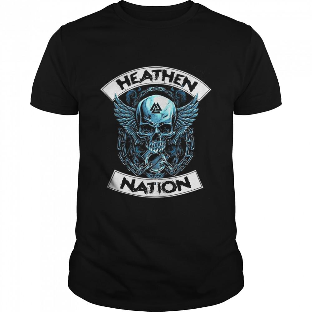 Heathen Nation shirt Classic Men's T-shirt