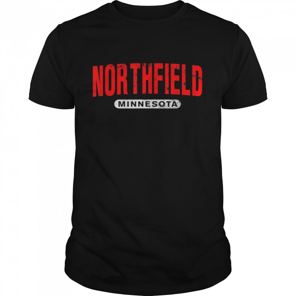 NORTHFIELD MN MINNESOTA USA City Roots Vintage shirt Classic Men's T-shirt