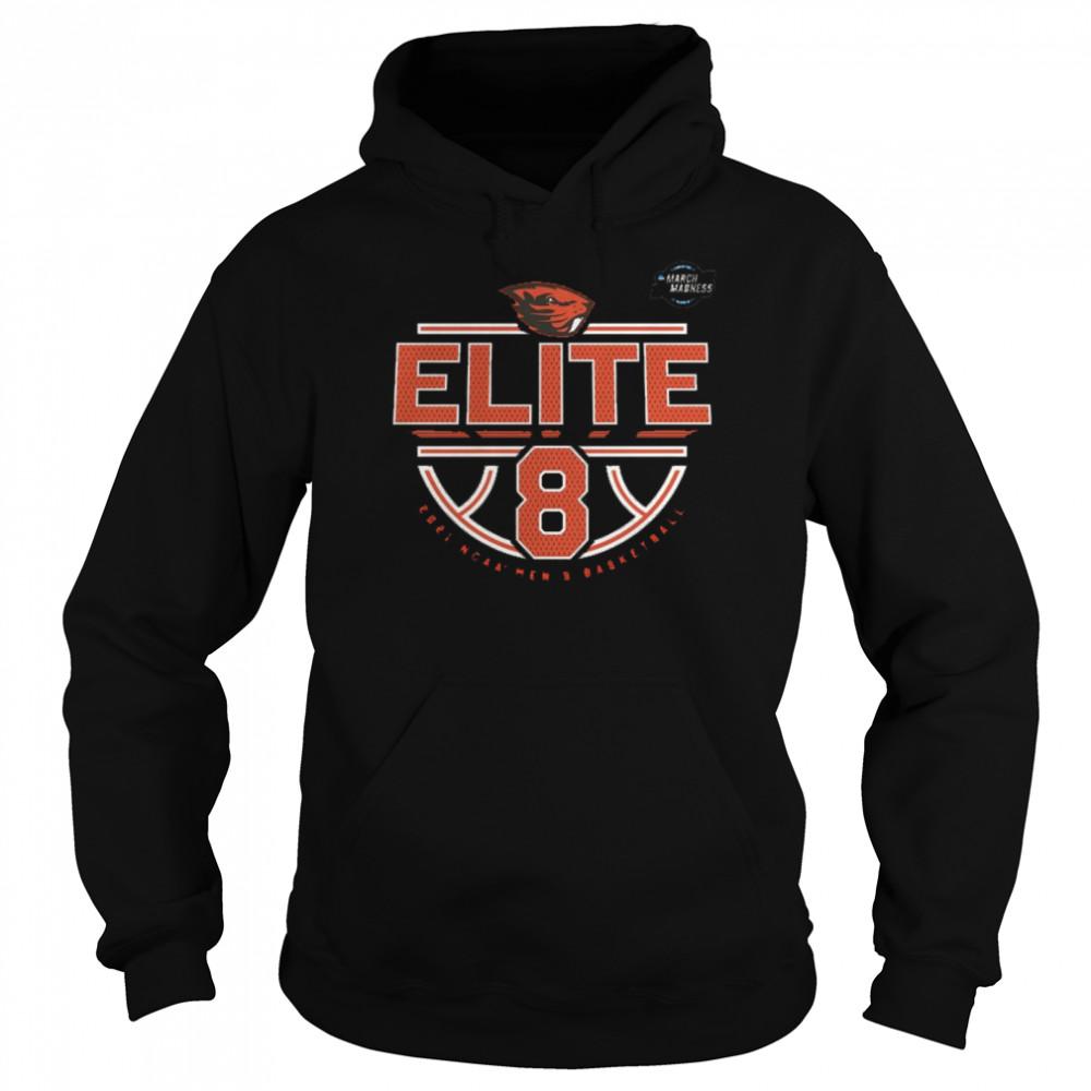 Oregon State Beavers Elite 8 2021 NCAA Men's Basketball shirt Unisex Hoodie