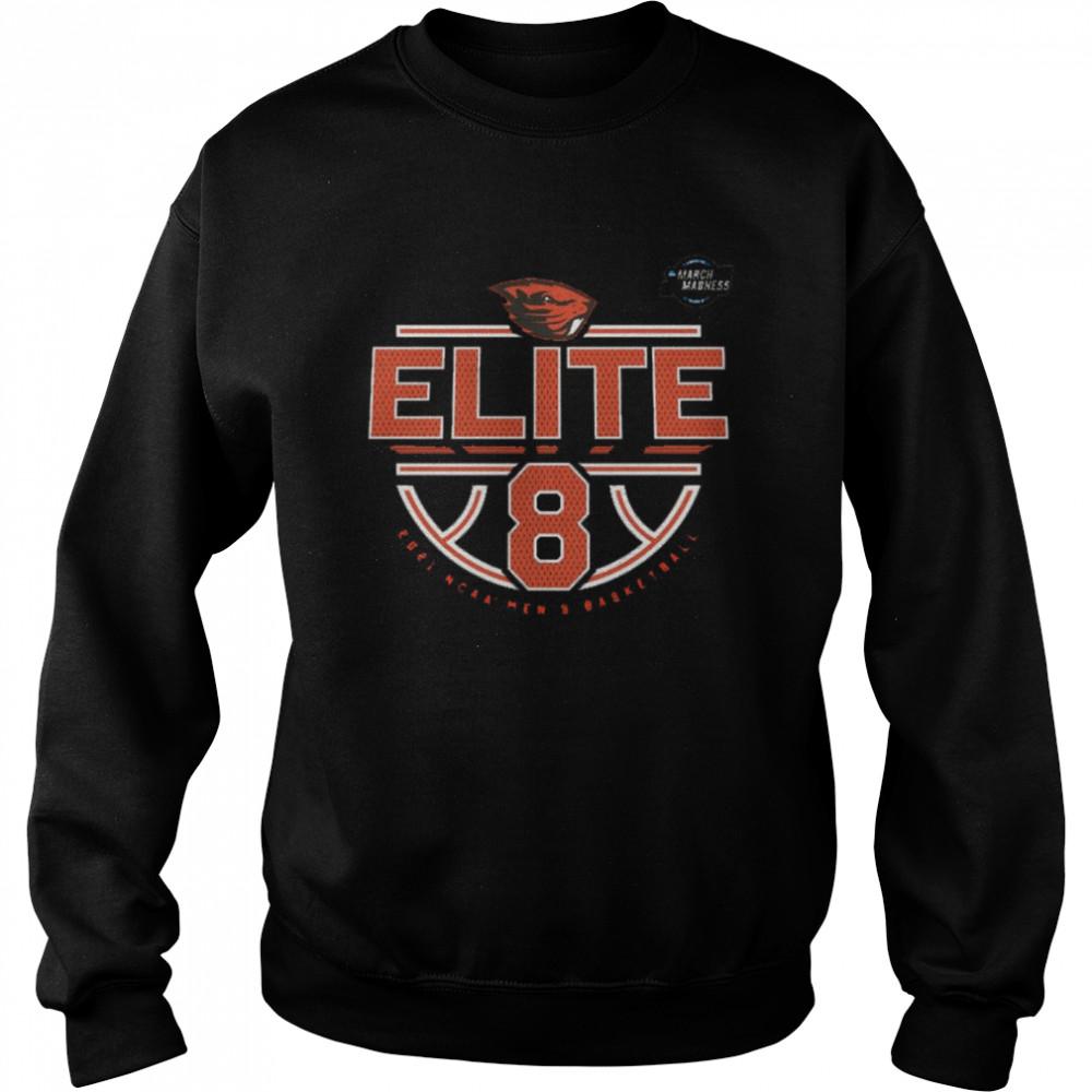 Oregon State Beavers Elite 8 2021 NCAA Men's Basketball shirt Unisex Sweatshirt
