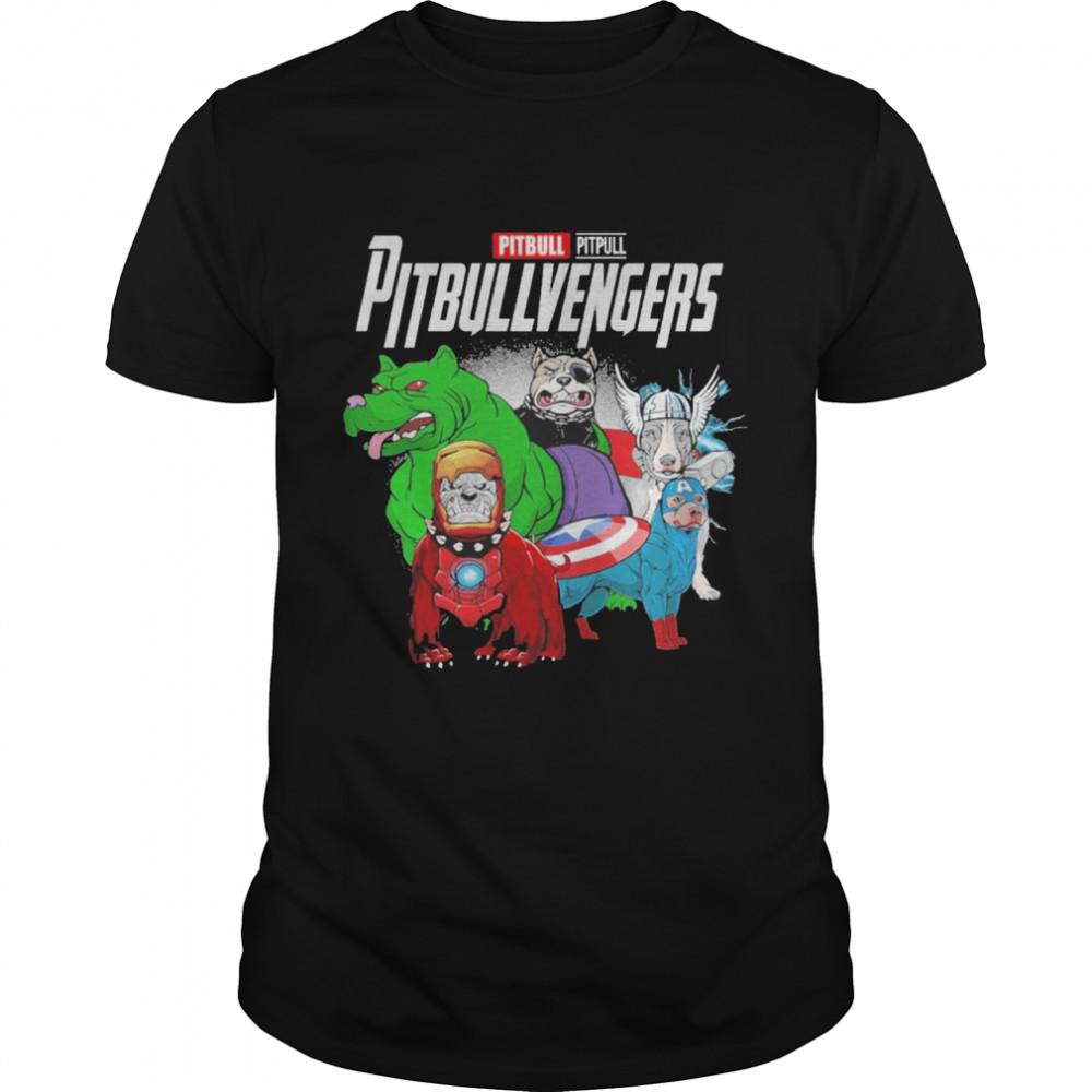 Pitbull Pitpull Pitbullvengers shirt Classic Men's T-shirt