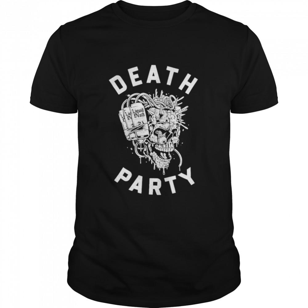Skull Liquid Death party shirt Classic Men's T-shirt